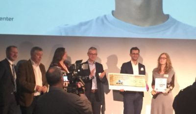 'Zorgvinding' 2017 – Cancer care laureate AZ Maria Middelares with RemeCoach